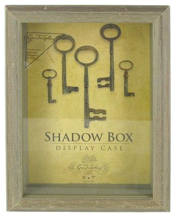 Green Tree Gallery Barn Wood Shadow Box Display Case Traditional Picture Frames By Hobby Lobby Wood Shadow Box Shadow Box Display Case Shadow Box Art