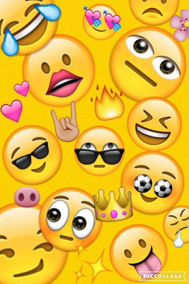 Emoji Yellow Cute Emoji Wallpaper Emoji Wallpaper