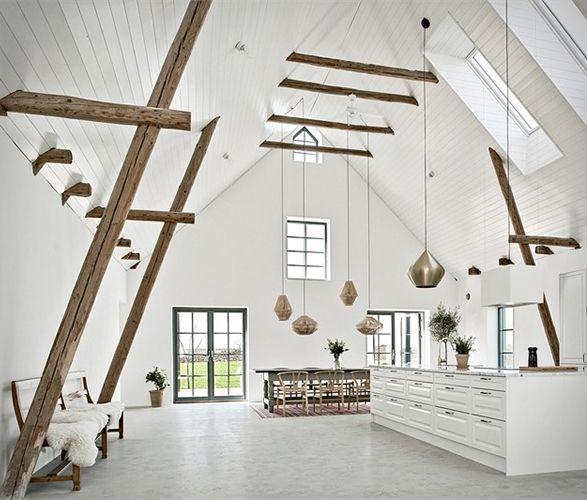Minimalist Garage Converted Into A Kitchen Ideas: Barn Renovation Ideas In 2019