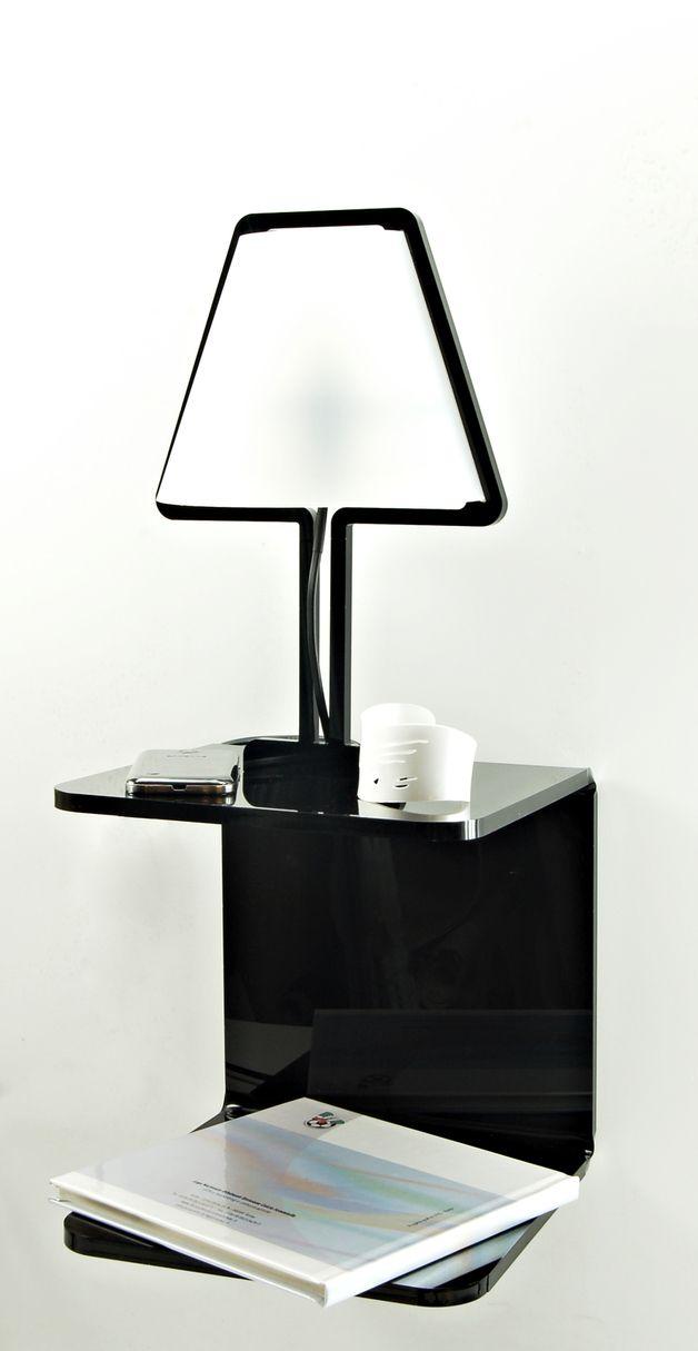 SHELFlamp – Il comodino di design in plexiglass co - SOB - Shaping ...