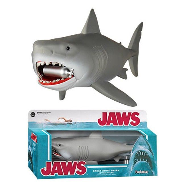 preview of the upcoming jaws reaction figure by funko release  funko pop