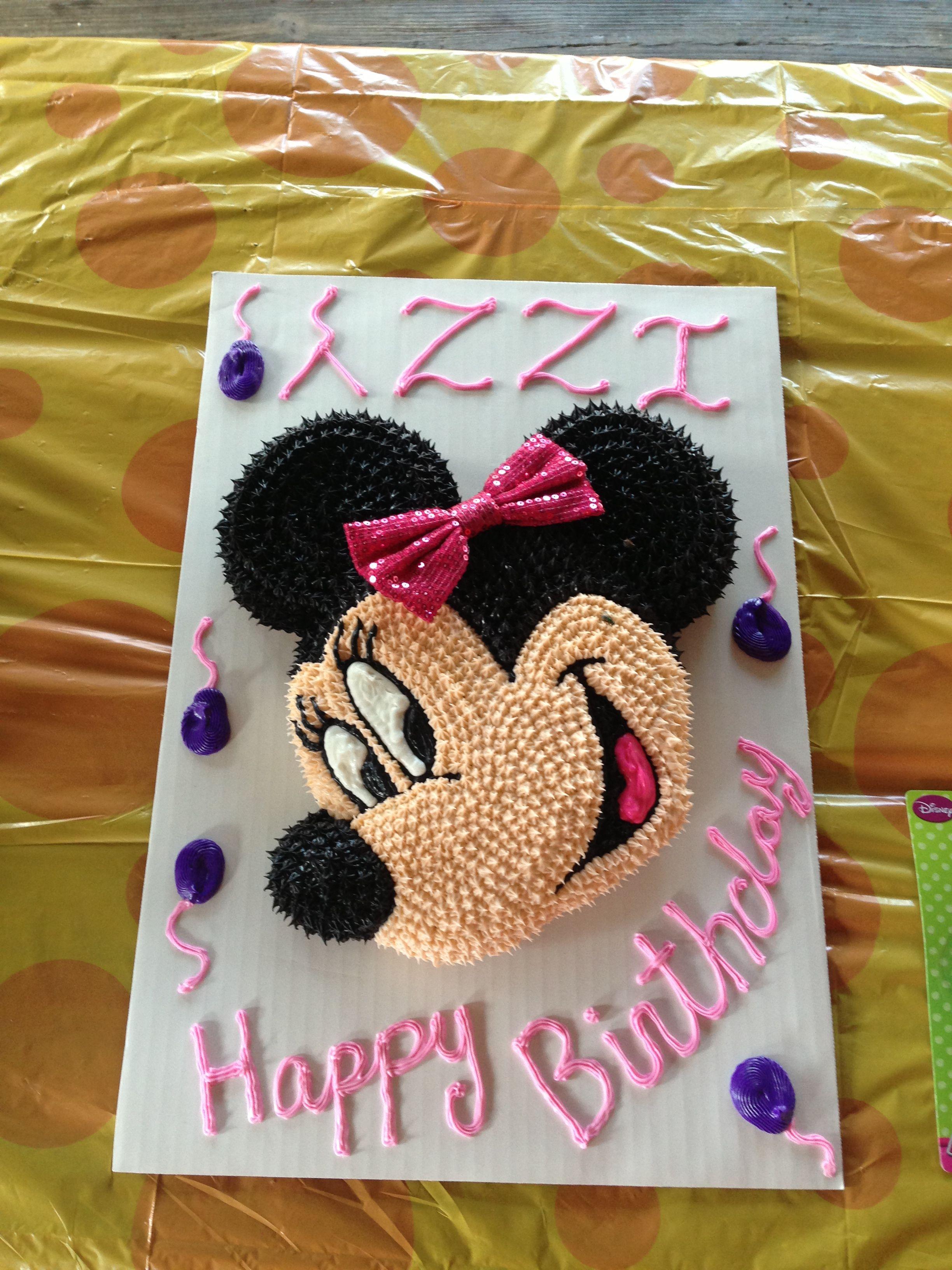 Izzys minnie mouse cake by debbie minnie mouse cake