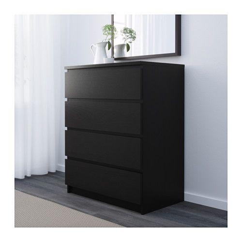 Malm Comodă 4sertare Nm Ikea 4 Drawer Dresser Drawers