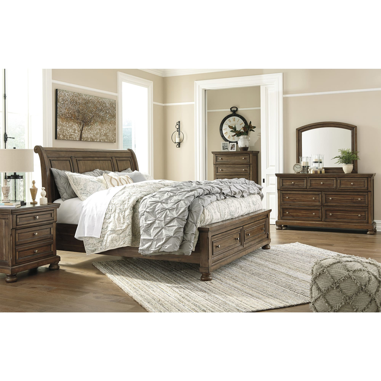 6piece flynnter queen bedroom collection  ashley