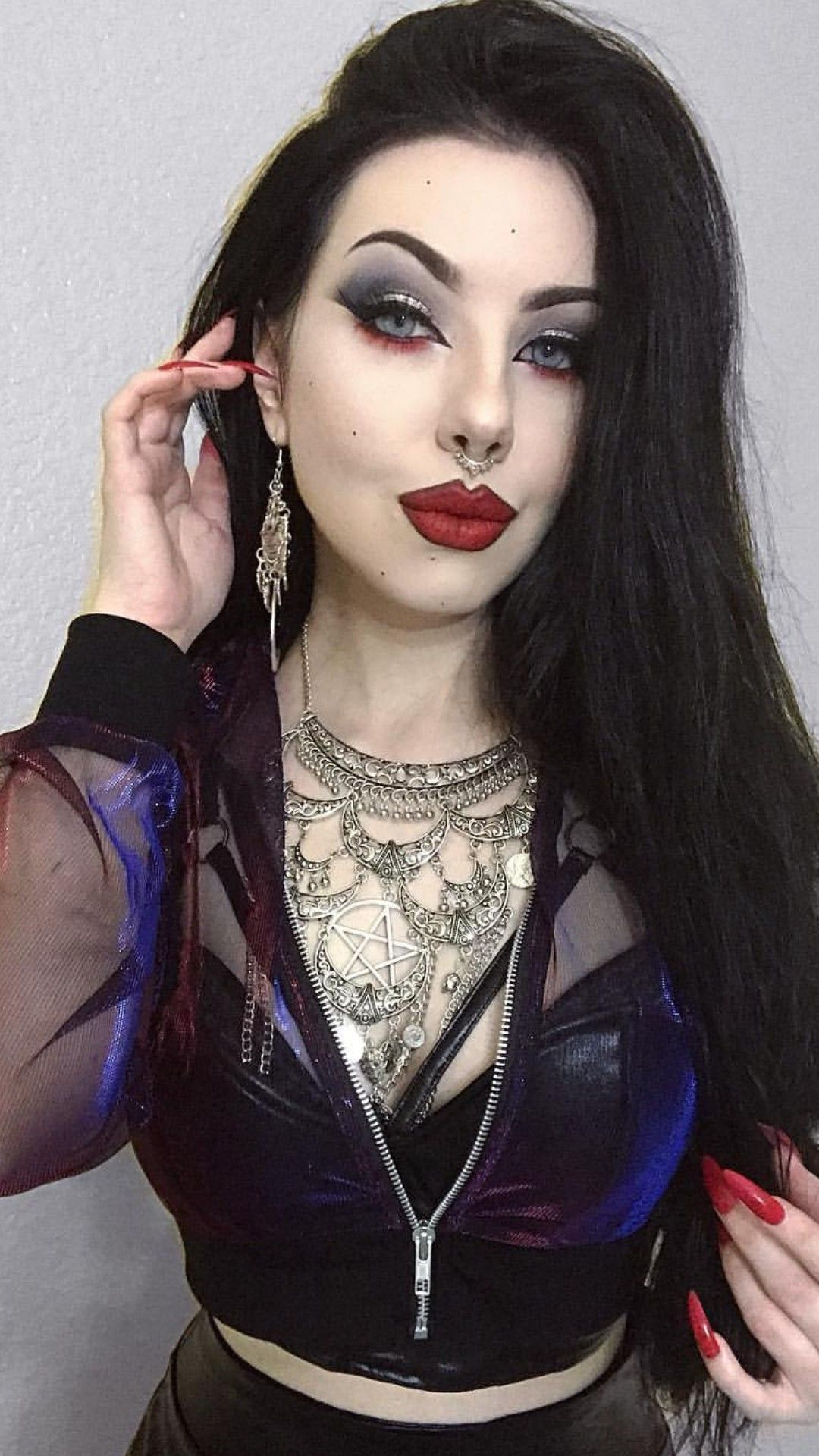 Kristiana Goth Beauty Sexy Goth Girl Gothic Style In 2019 -9949