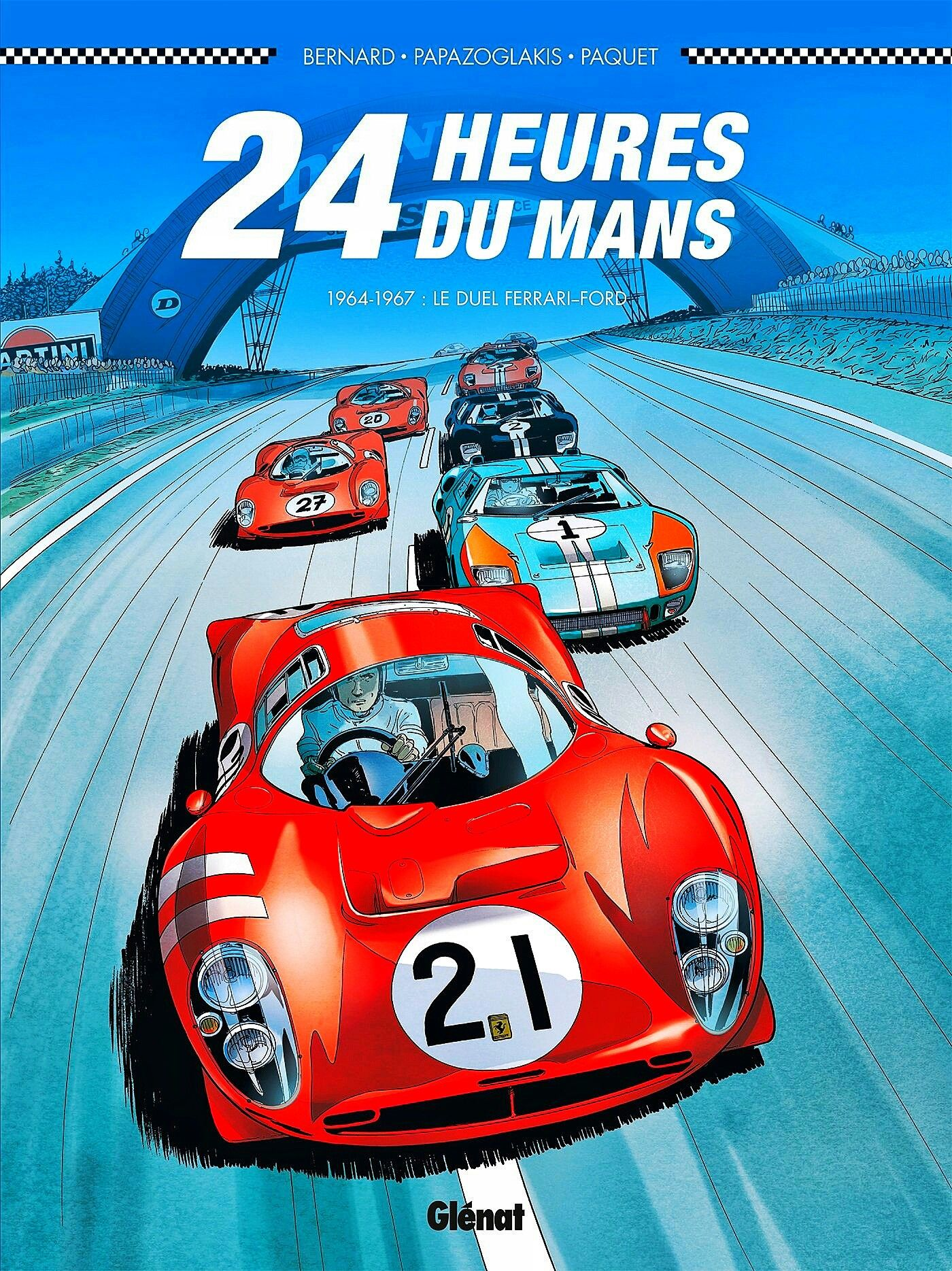 Ford Vs Ferrari At Lemans 1964 1967 Relive The Epic Duel Between Ford And Ferrari At The Legendary 24 Hou Vintage Racing Poster Auto Racing Posters Le Mans
