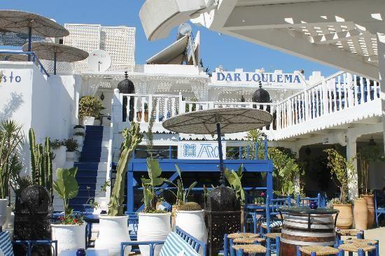 Taros Cafe Restaurant Essaouira Marocco Cafe Restaurant