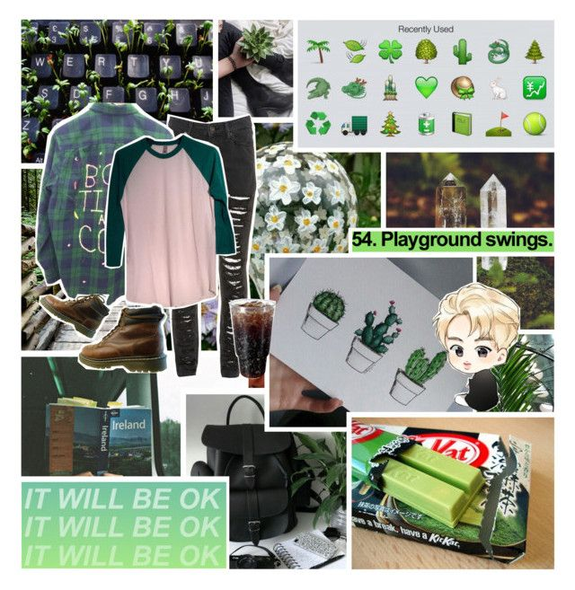 """🍃If you tickle me, I'm not responsible for your injuries.🍃"" by fantasy-lover-0719 ❤ liked on Polyvore featuring American Apparel"
