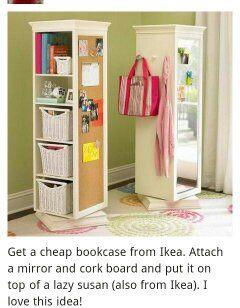 Spinning Bookcase Idea