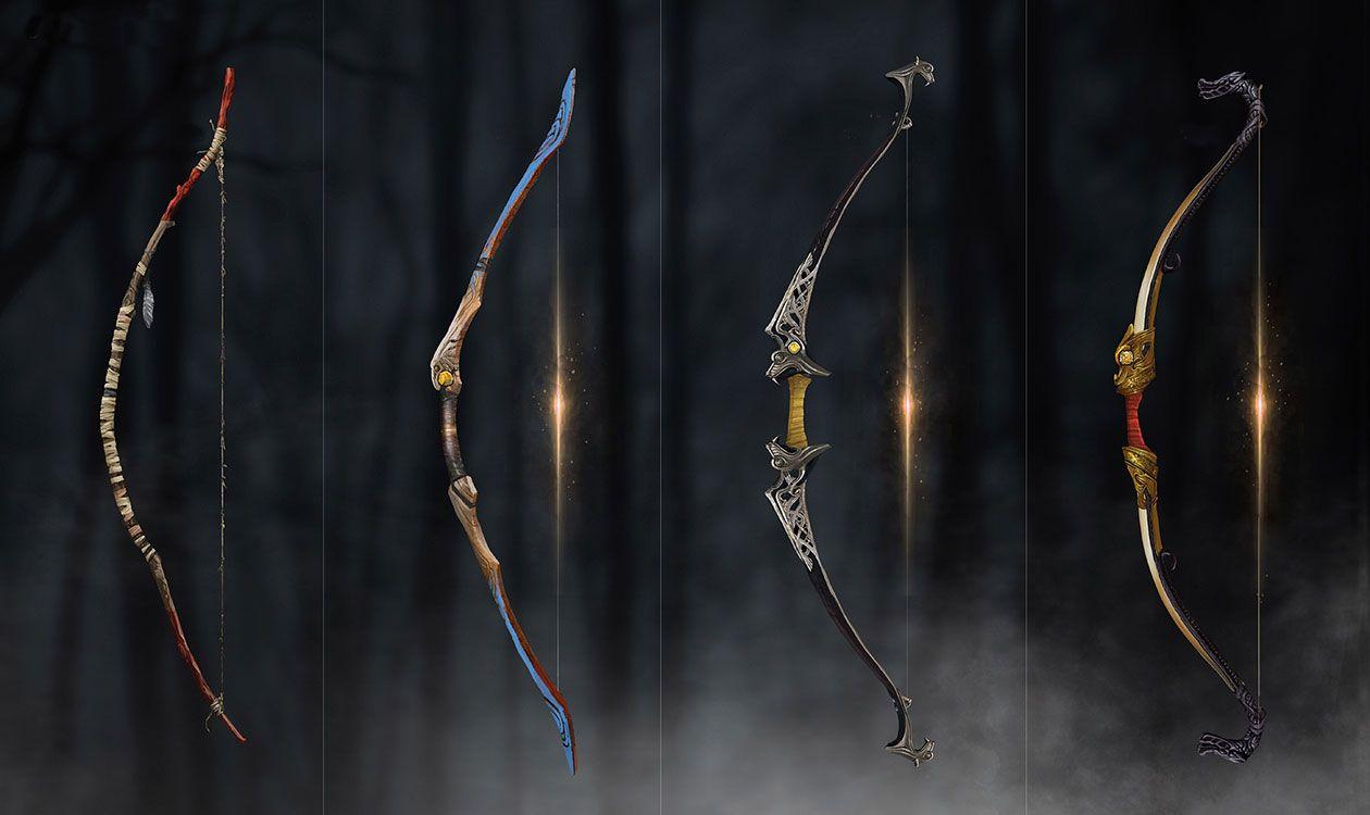 Talon Bow Concept Art From God Of War Art Artwork Gaming Videogames Gamer Gameart Conceptart Illustration Bow Art God Of War Bow Concept Art