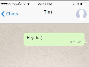 Männer whatsapp verhalten