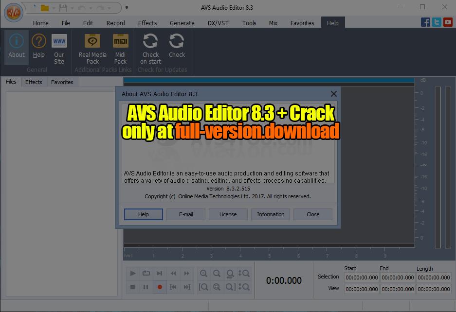 avs audio editor 8 3 crack full version full version download