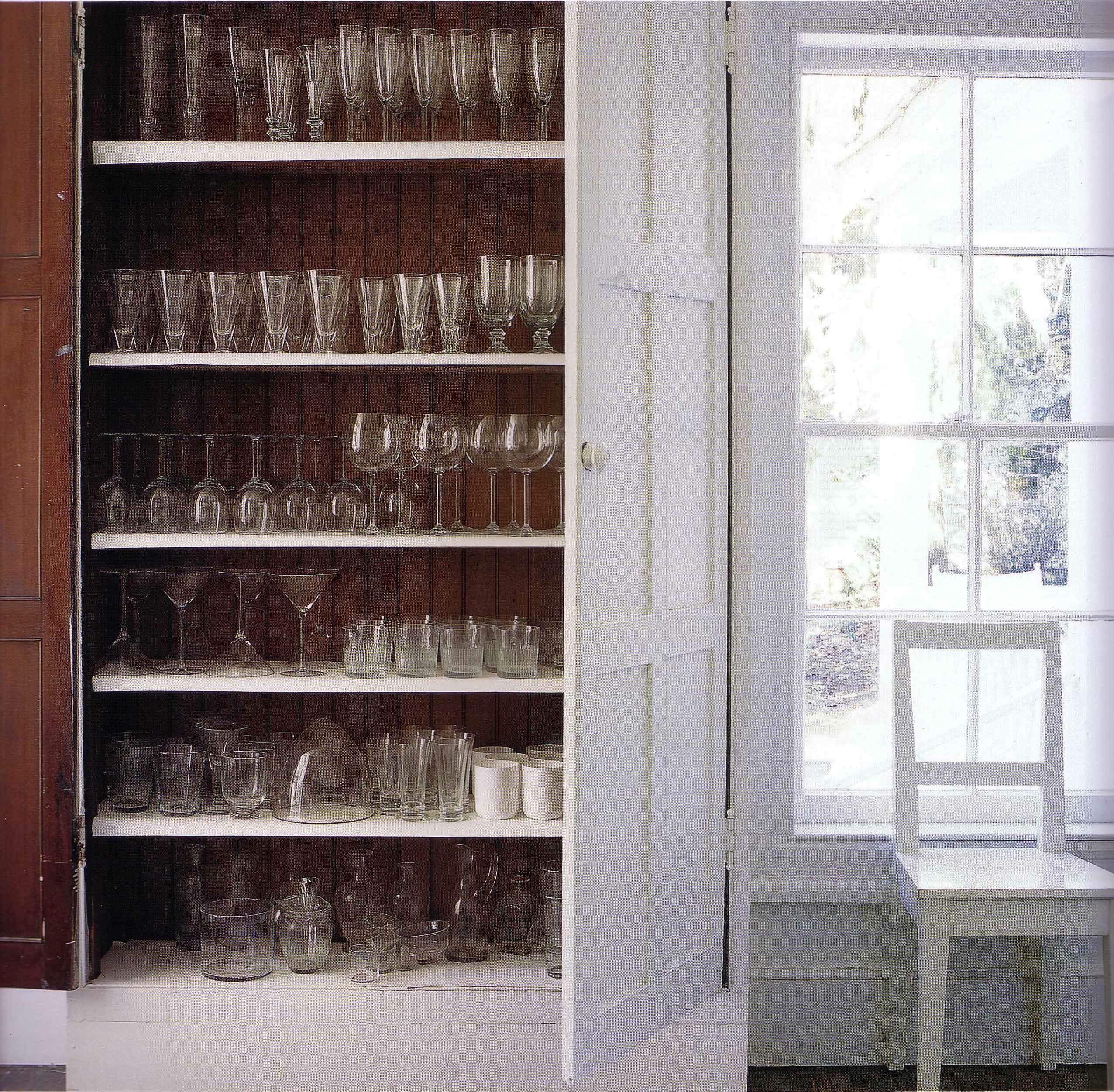 Messy Kitchen Pantry: Glasses For Every Occasion