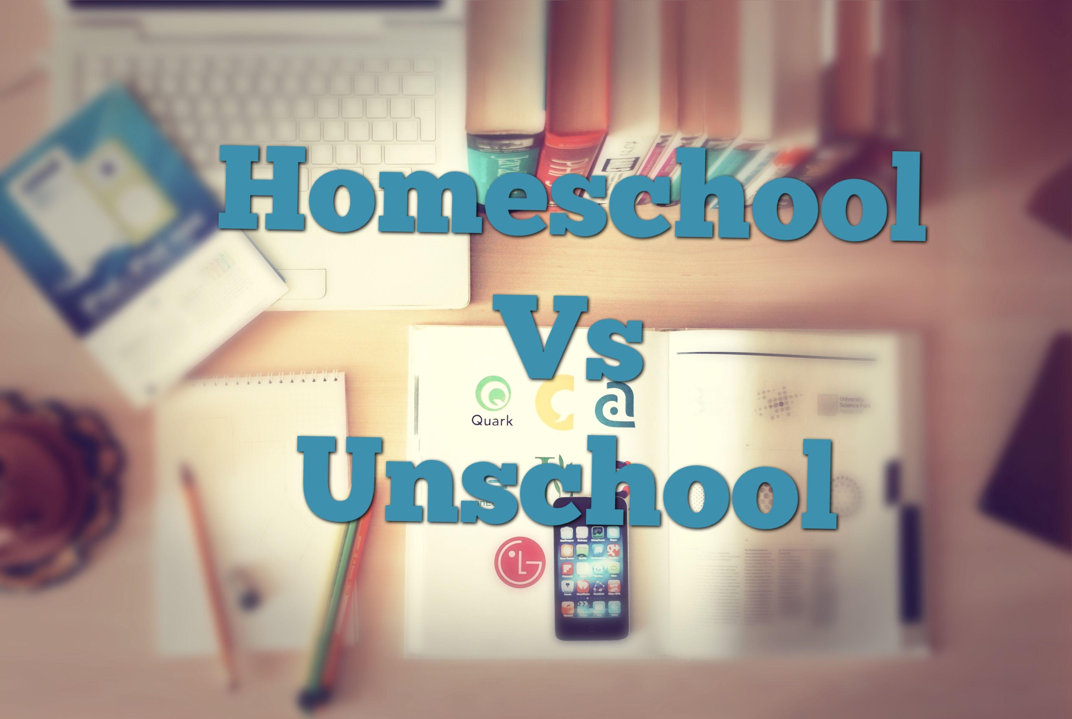 Homeschool vs Unschool Q&A   Unschooling Homeschool ...