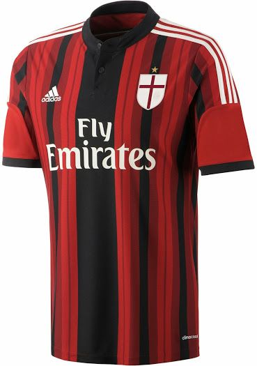 MILAN 14 15 HOME, AWAY AND THIRD KITS | Voetbal