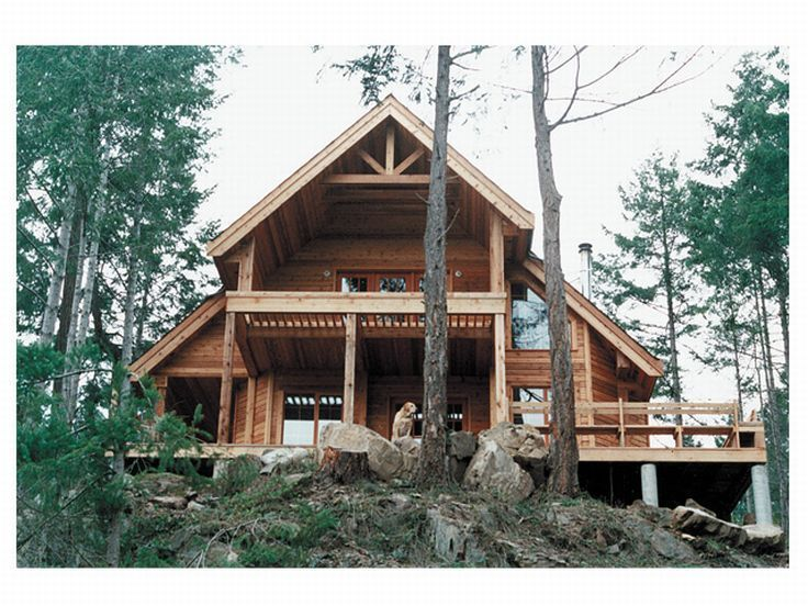 Mountain Home Plans Vacation House Plans Rustic House Plans Cottage House Plans