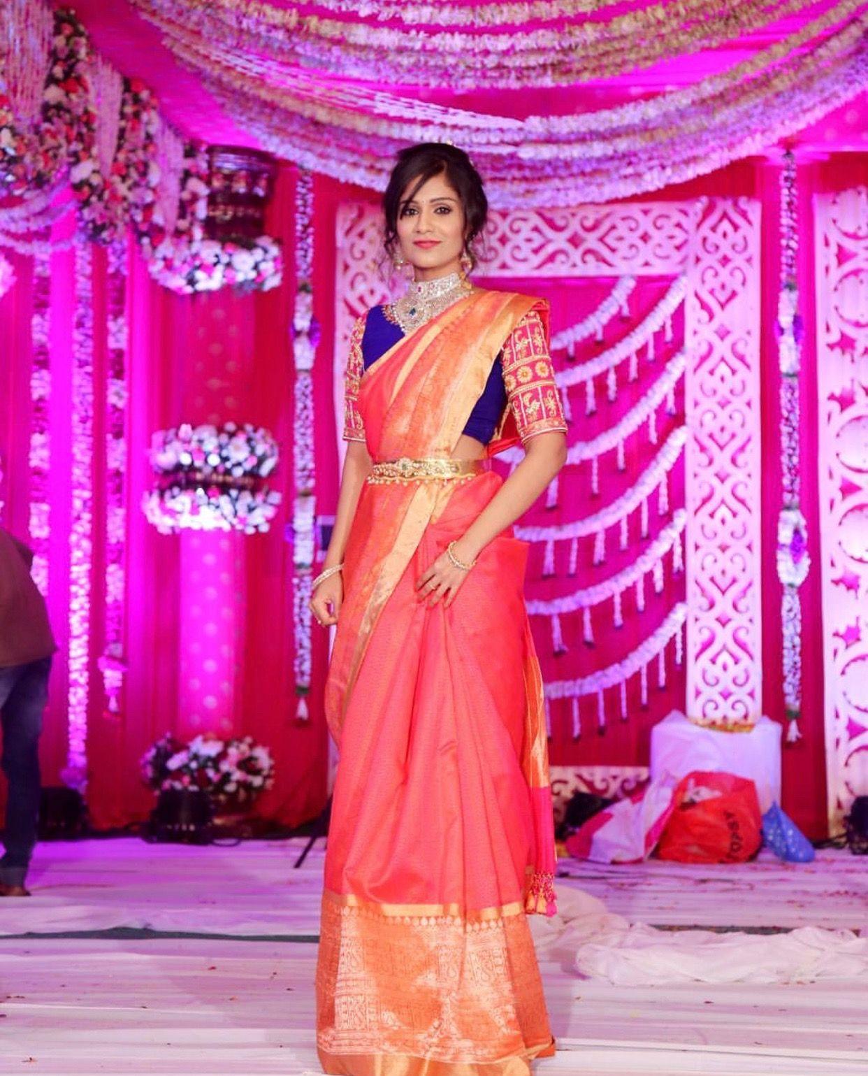 Dorable Vestido De Novia De La India Para Los Novios Foto ...