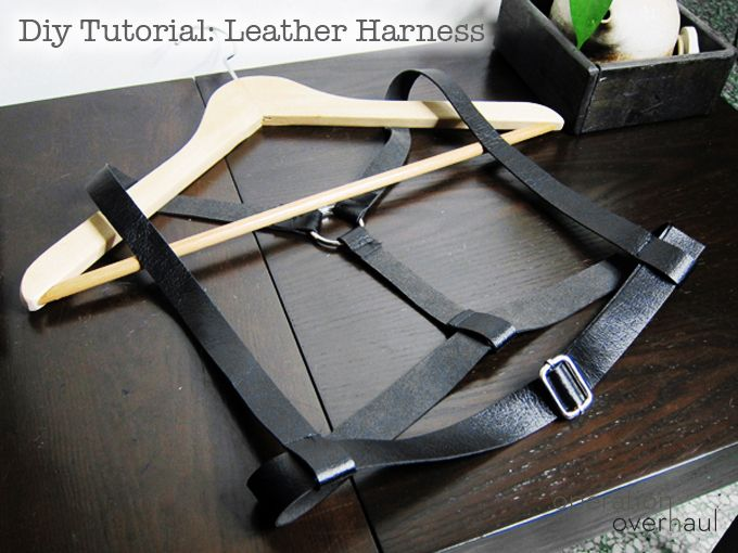 DIY Leather Fashion Harness | Operation Overhaul