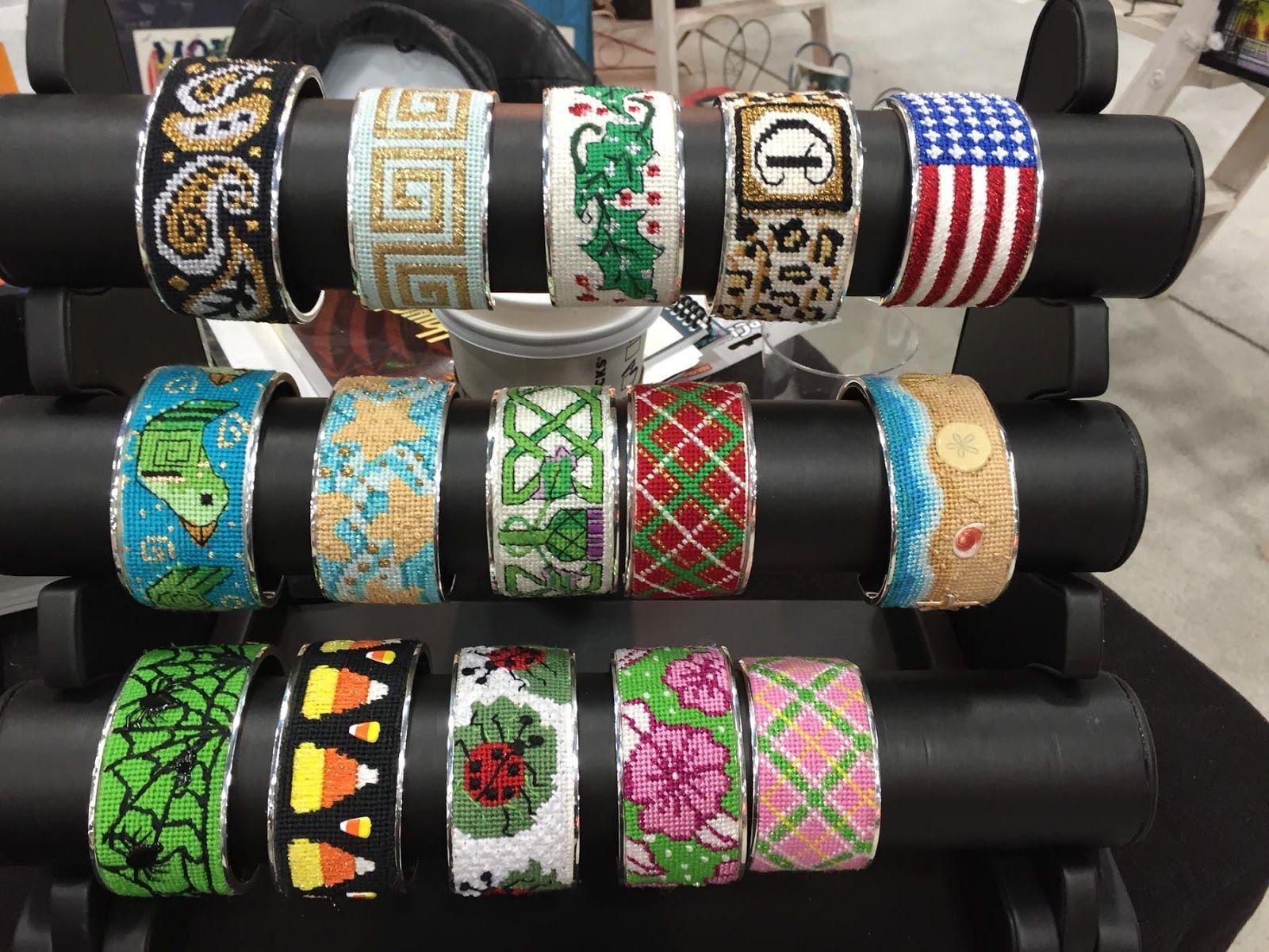 Kreinik Thread Blog: What's New in Needlepoint: Bracelets