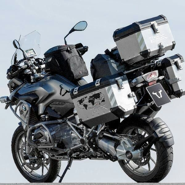 Dual Sport Motorcycle Luggage With Images Bmw Adventure Bike