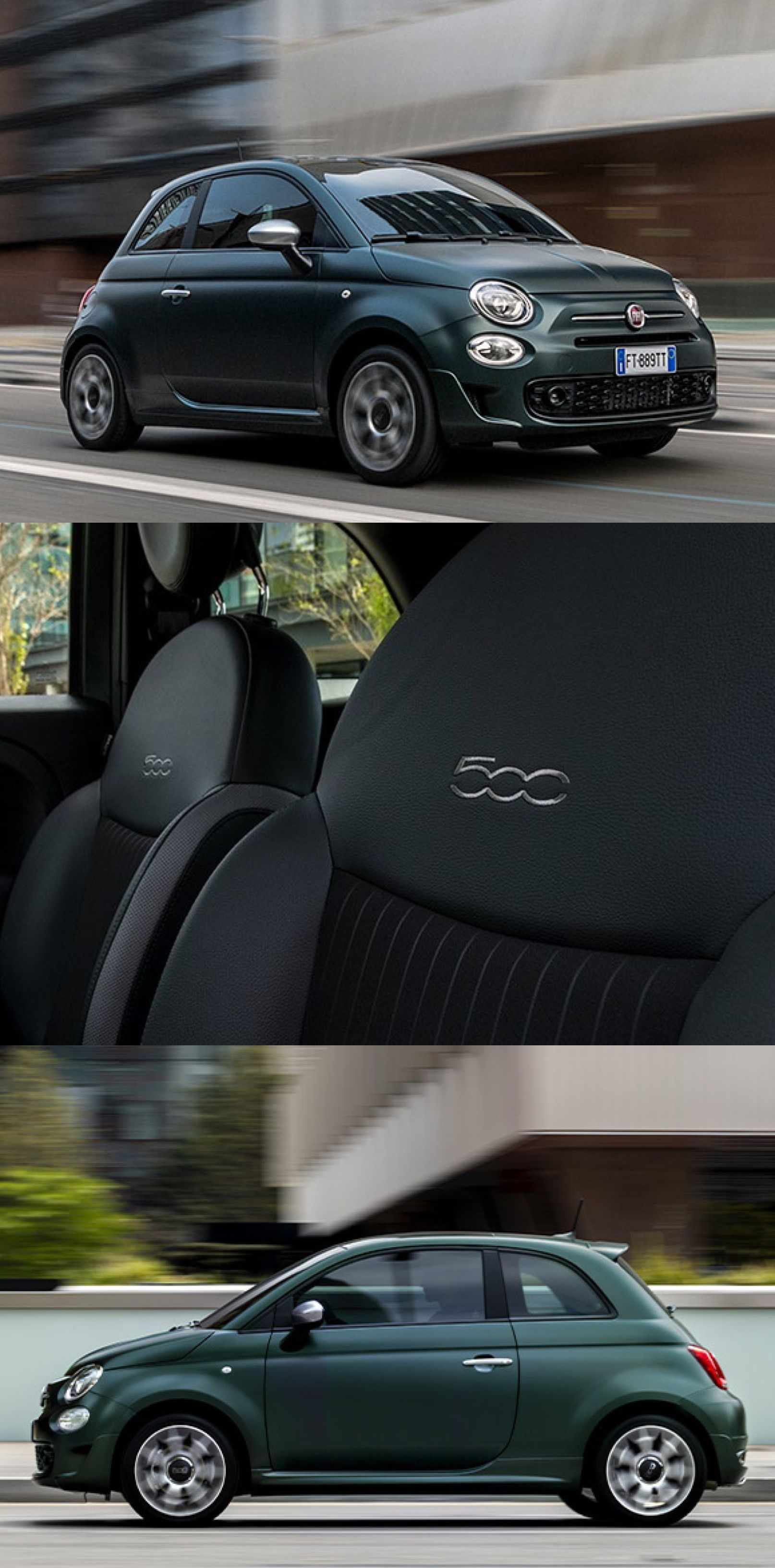Check Out This Bold Portofino Green Fiat 500 This Fiat Is The New