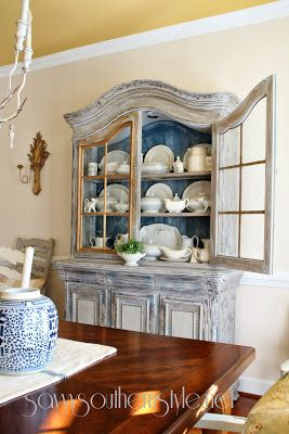 French Country Cottage Buffet Makeover
