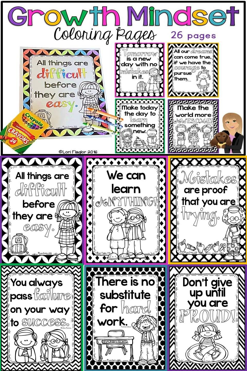 Free coloring pages growth mindset - 26 Growth Mindset Coloring Pages Ready To Print And Go