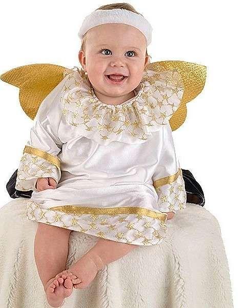 Disfraz De ángel Fotos De Algunos Modelos Disfraz De ángel Para Bebé Disfraz De Angelito Traje De Angelito Moda