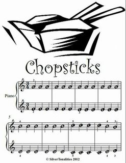 Chopsticks Beginner Tots Piano Sheet Music Pdf Sheet Music Pdf