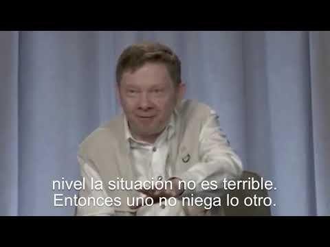 Eckhart Tolle habla sobre cómo enfrentar situaciones extremas (Subtitulado) - YouTube