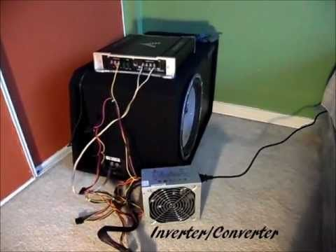 Car Stereo Subwoofer Set Up Install In Home House How To