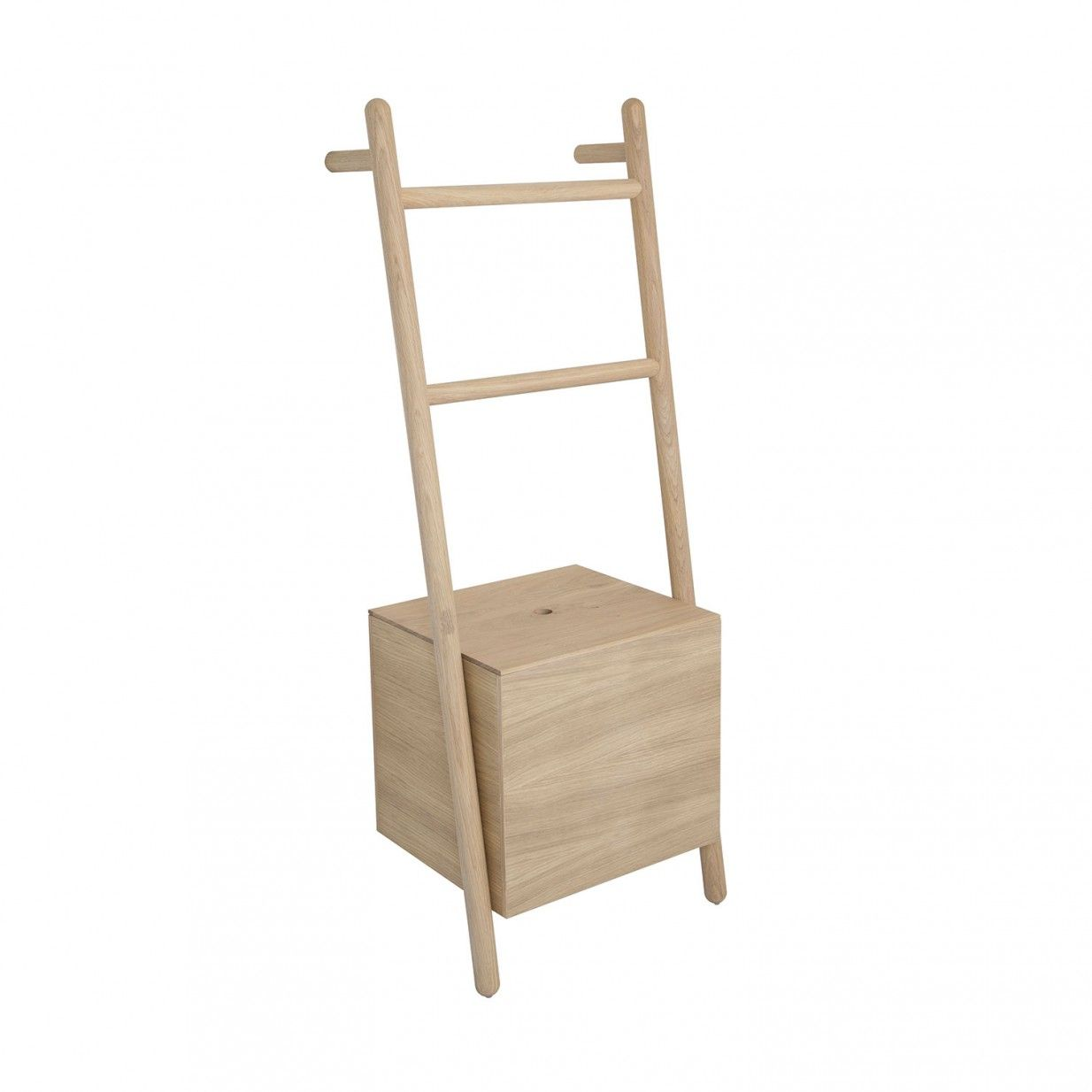 lokks leiter-regal | kommod, germany. oak bathroom storage. | is