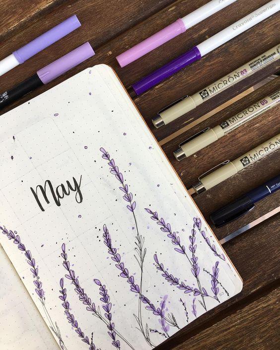 SEJA AGRIDOCE : Bullet Journal: inspirações de temas fáceis para os 12 meses do ano