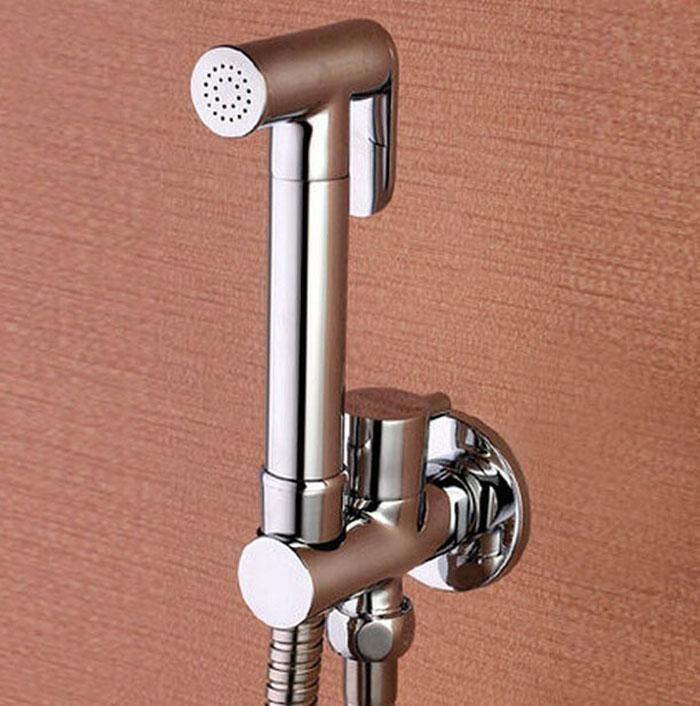 Bathroom Bidet best toilet brass hand held bidet spray shower head douche kit