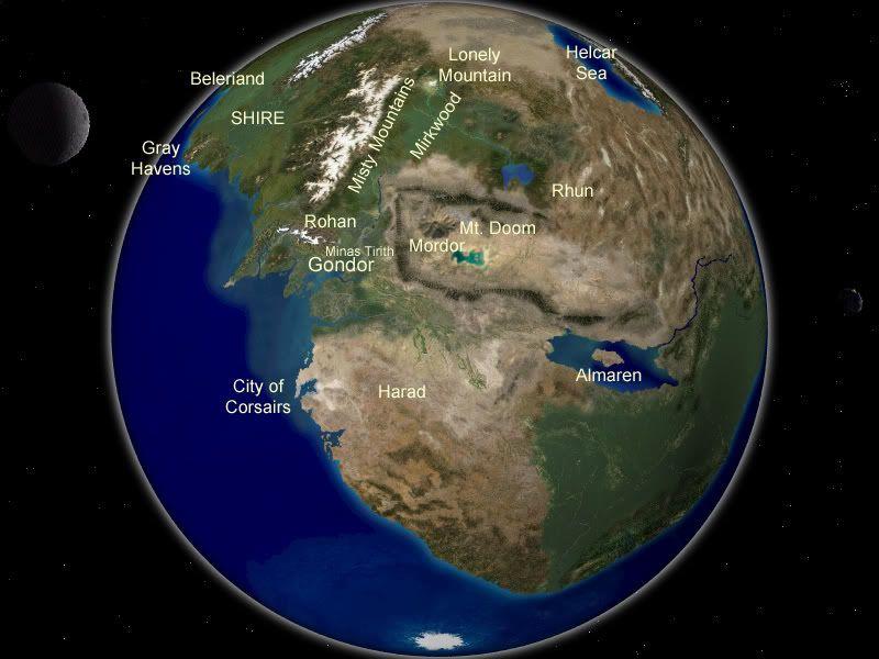 Middle earth fantasy world maps pinterest middle earth and lotr middle earth gumiabroncs Gallery