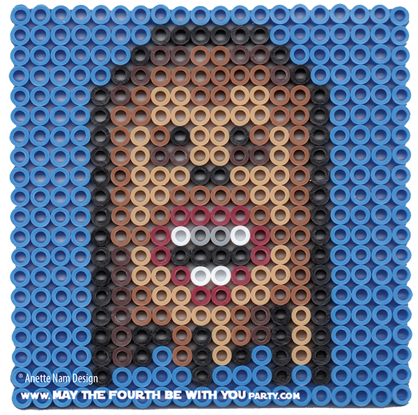 Chewbacca May The 4th Be With You: Star Wars Perler Beads By May The 4th