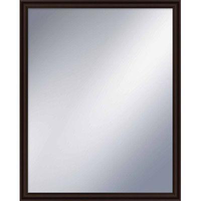 "PTM Images Wayfare Wall Mirror Finish: Espresso, Size: 31.5"" H x 24.5"" W"