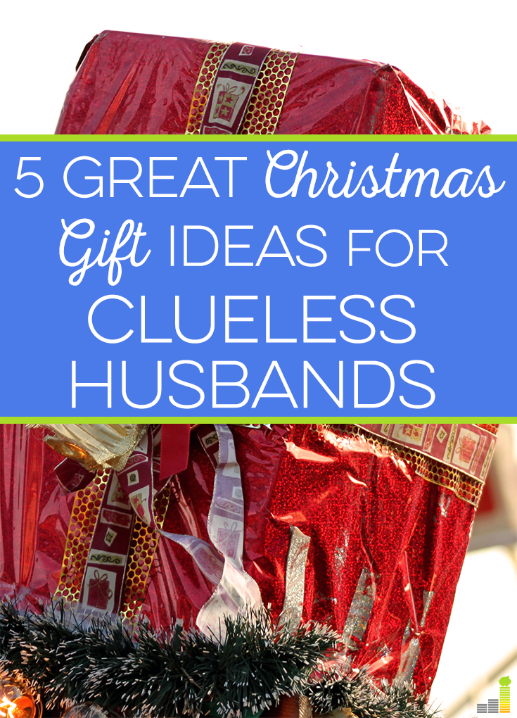 Christmas gift ideas for your wife can be difficult to come up with. I share some go-to Christmas gifts for my wife that are easy on budget that she loves.  sc 1 st  Pinterest & 5 Great Christmas Gift Ideas For Clueless Husbands | FinCon Bloggers ...