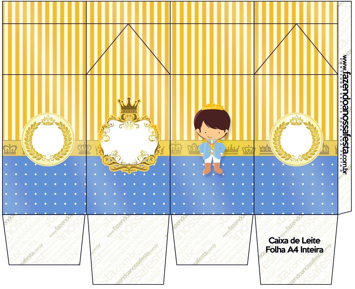 Caixa De Leite Principe Moreno Caixa De Leite Festa Infantil