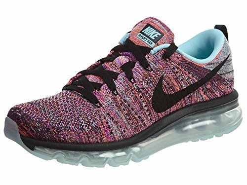 wholesale dealer ea876 70af8 Nike Womens Wmns Flyknit Max, BLACKBLACK-COPA-HYPER ORANGE, 10 M US