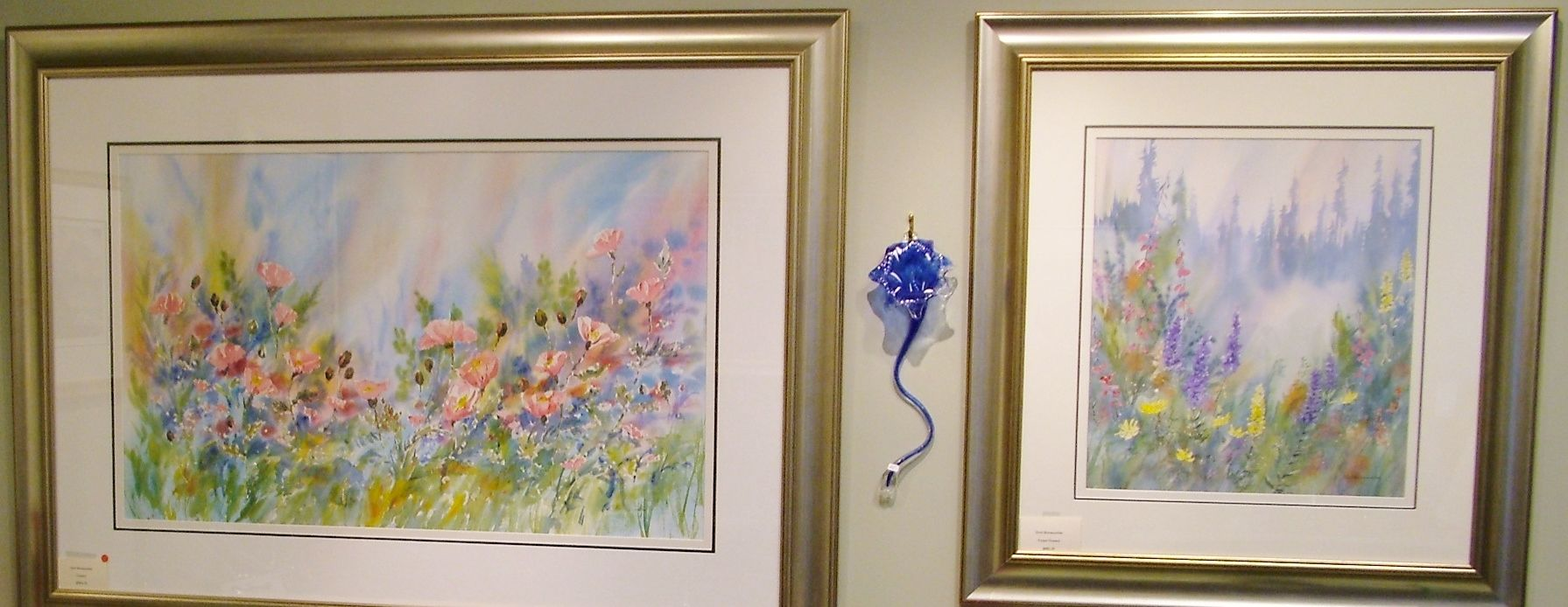 Watercolor florals by Errol of Canwest Art