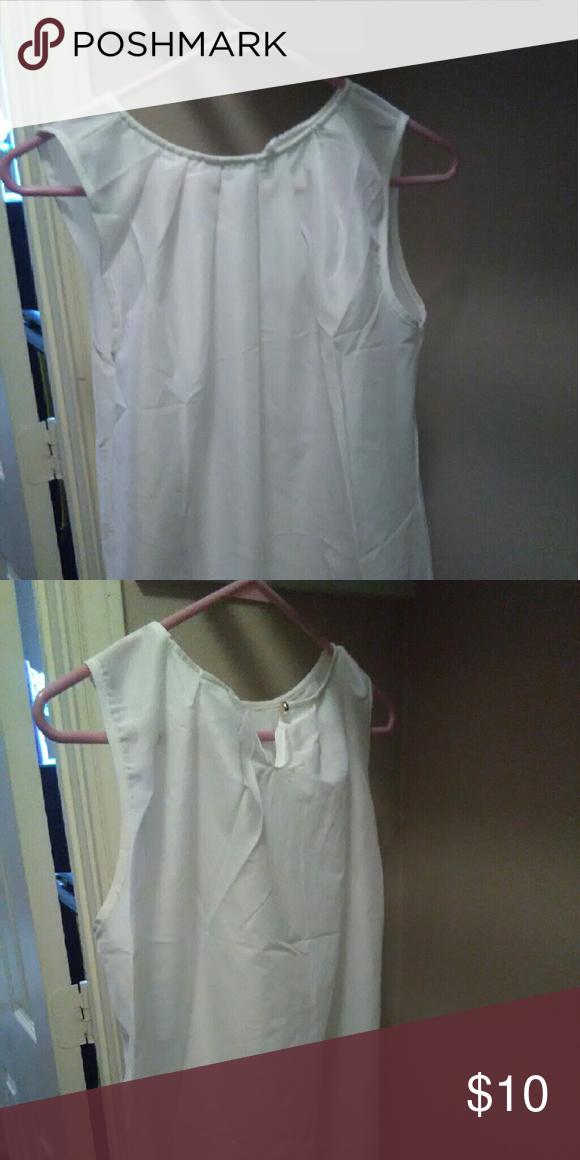 Beautiful white blouse Satin White blouse Tops Blouses