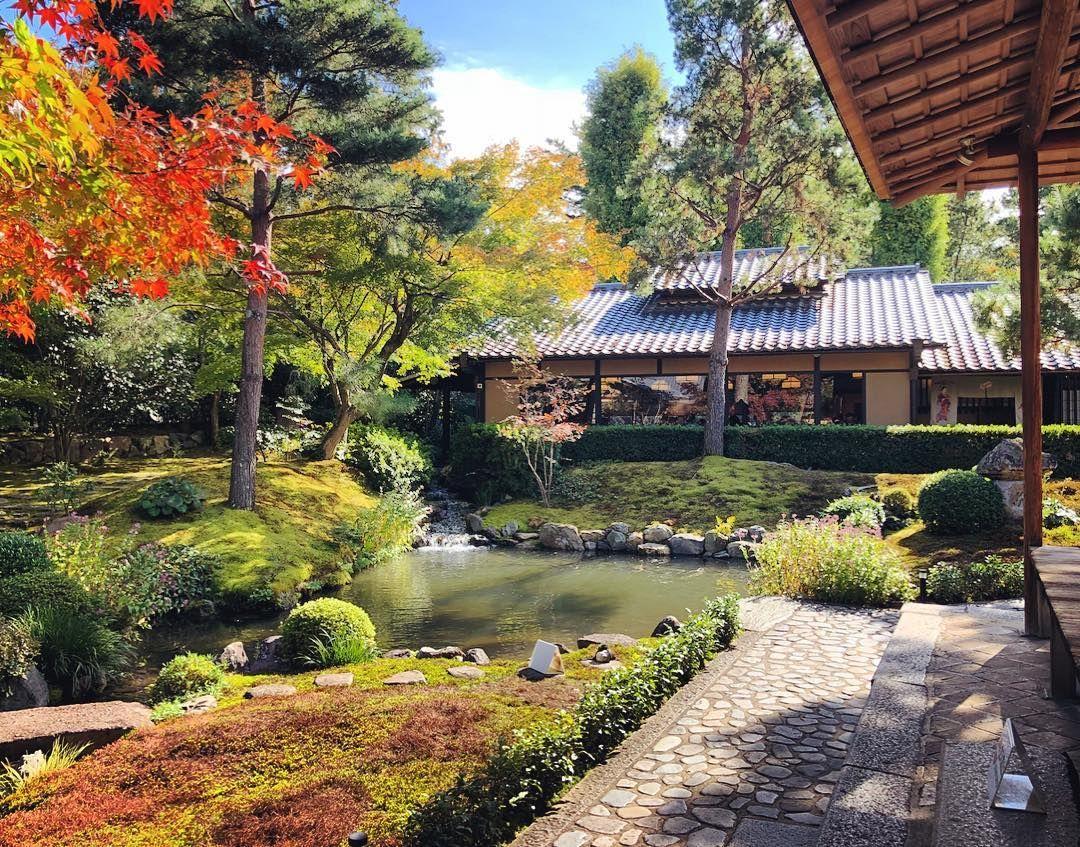 南禅寺順正庭園 Nanzen Ji Junsei Restaurant S Garden Kyoto Japanese Garden Garden House Styles