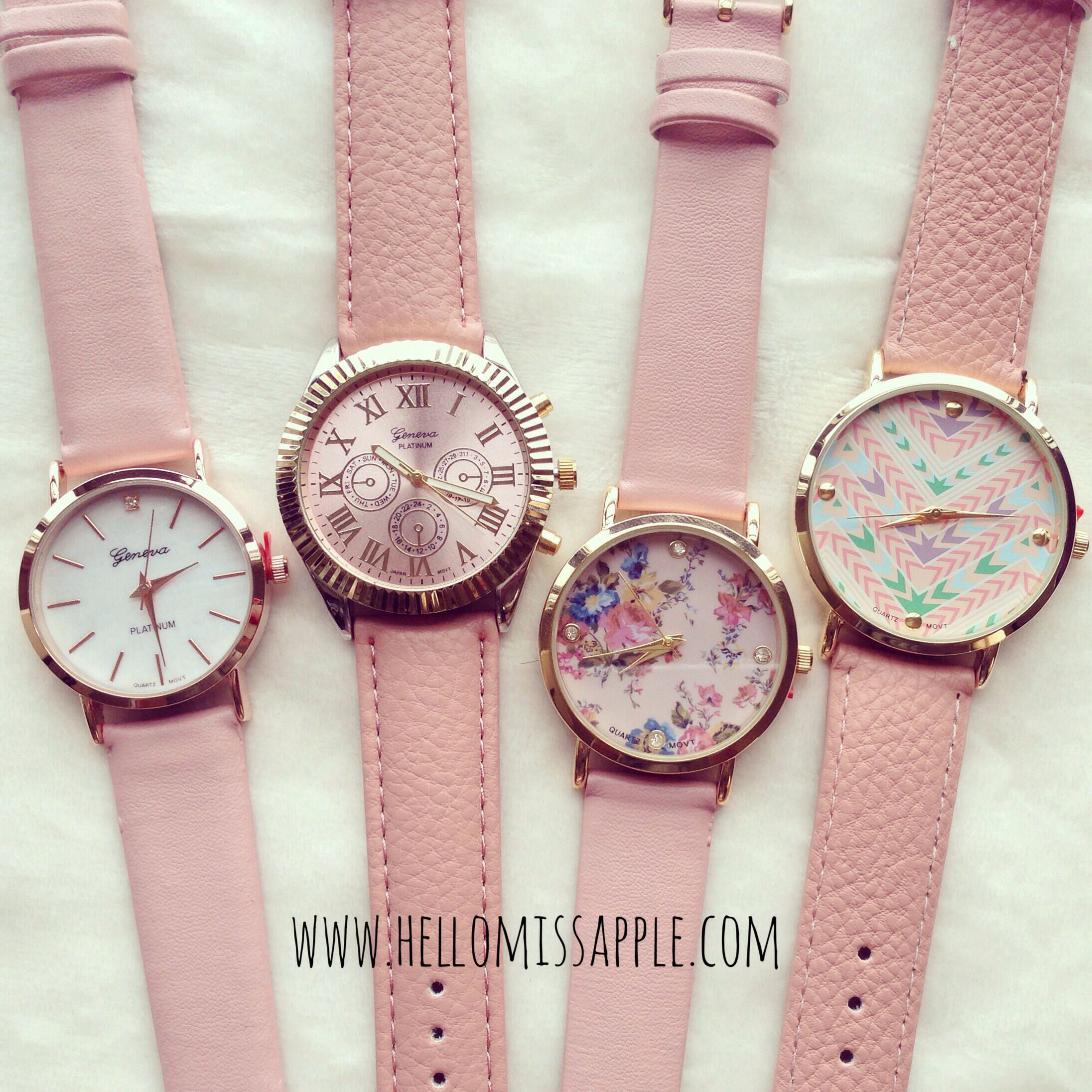 Trendy watches from Hello Miss Apple www.hellomissapple.com #watch #fashion #hellomissapple
