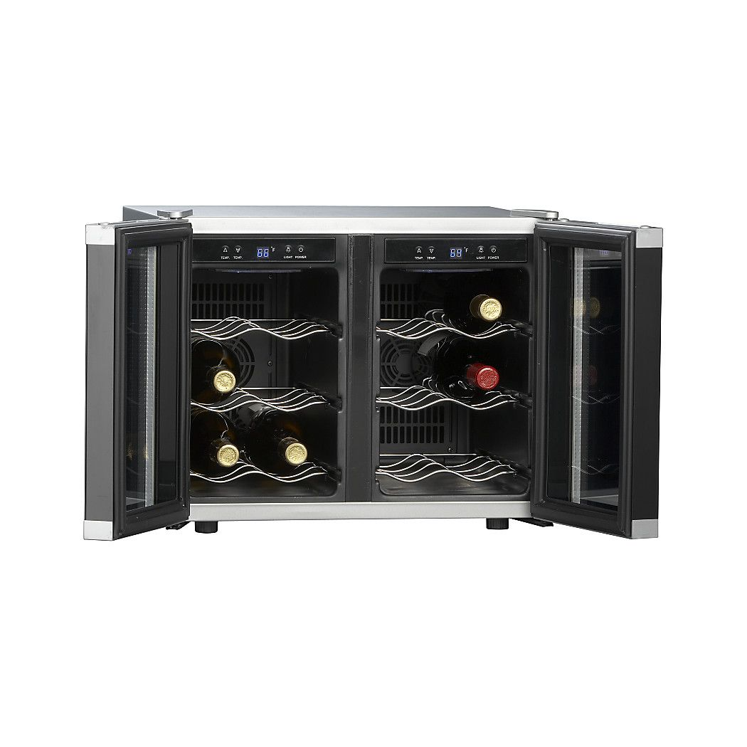 Cuisinart Dual Zone Wine Cooler Reviews Crate And Barrel Dual Zone Wine Cooler Personalized Wine Glass Best Wine Coolers