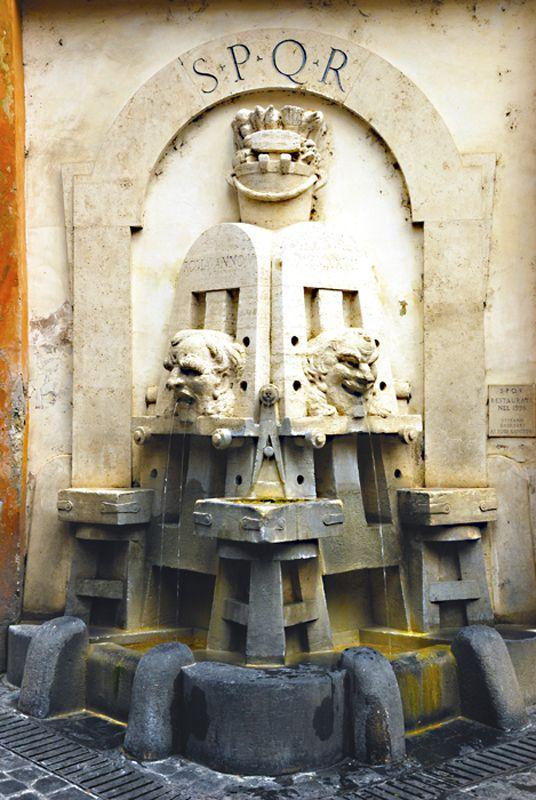 Fontana degli Artisti, Via Margutta - Rome