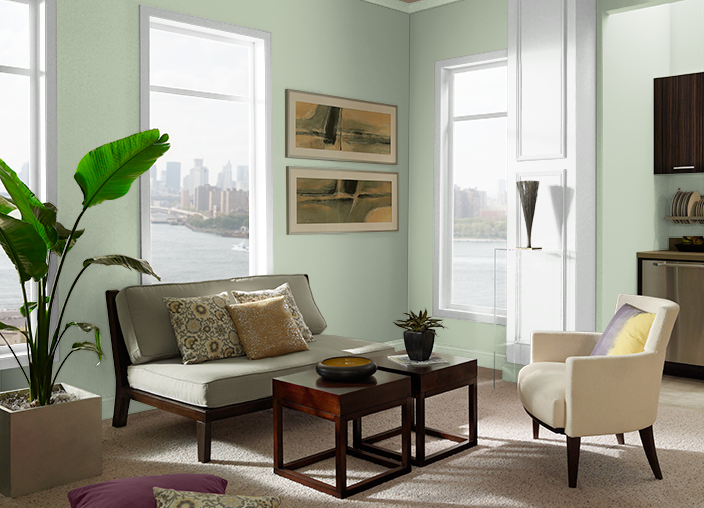 Creamy Spinach S390 3 Behr Paint Colors Behr Paint Behr Paint Colors White Paint Colors