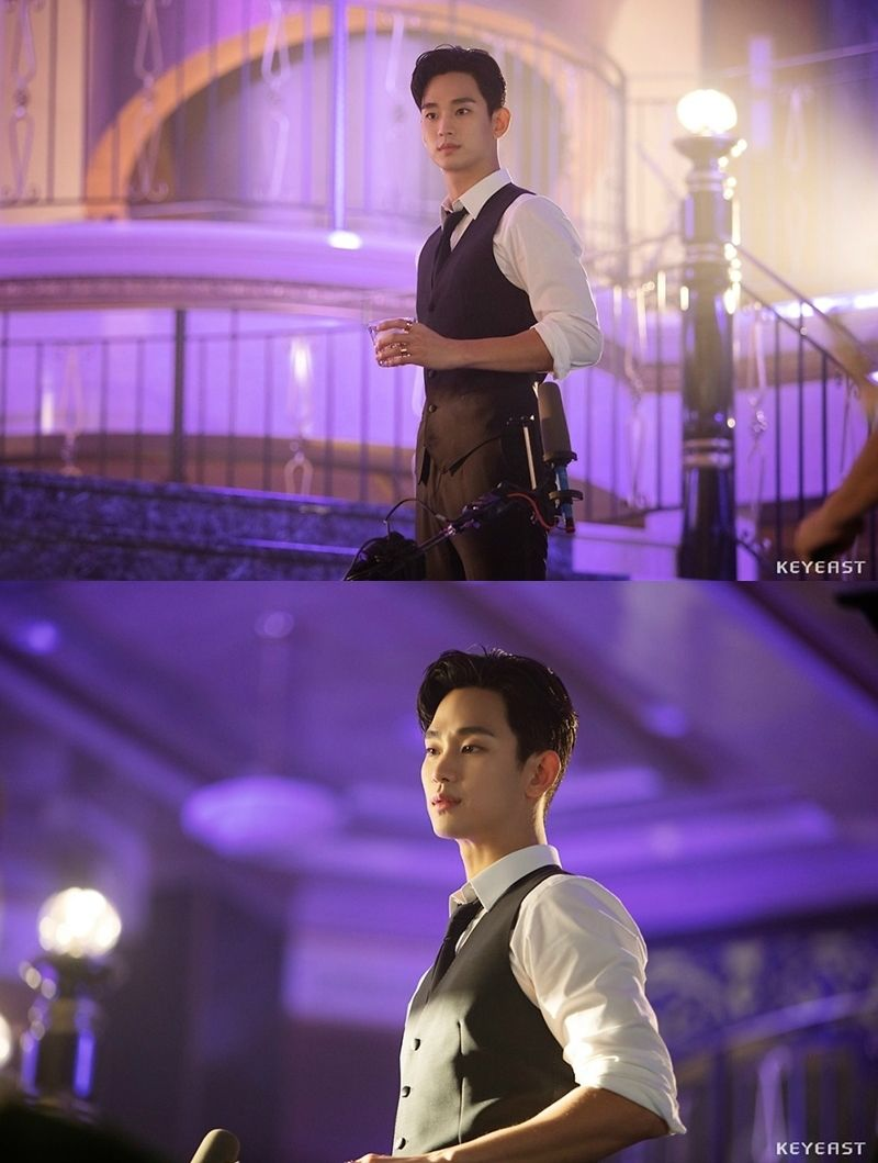 Kim Soo Hyun Is Dashing In Behind The Scenes Look At His Cameo In