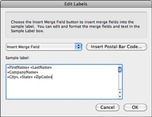 How to merge an Excel Spreadsheet with Avery Address Labels - I have