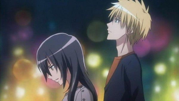 Tags: Anime, Screenshot, Kaichou wa Maid-sama!, Usui Takumi, Ayuzawa Misaki